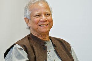 Professor Muhammad Yunus, Nobel Peace Prize winner visiting the